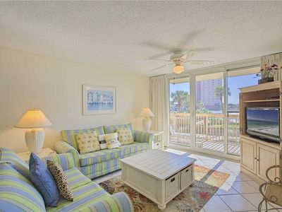 Photo for Pelican Beach Resort 214 - Gulf Front, Heated Community Pool, Tennis, Wifi!