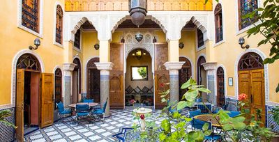 Photo for Double Bed Room Riad Layalina Fez: Pool, 360° View & Free Secure Parking at Foot