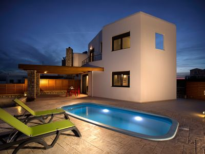 Photo for DIAS Luxury  Beach Villa with big Private Pool and private access to the beach