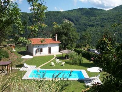 Photo for A Charming Little Whitewashed Country Cottage With Private Pool