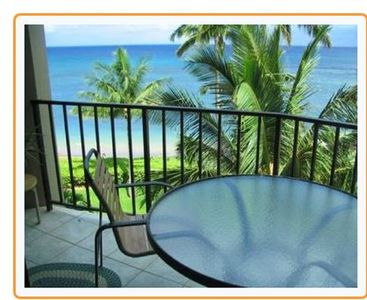 Photo for Oceanfront and Corner Oceanfront condo located on sandy  beach.