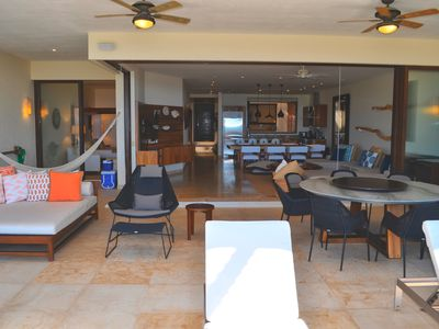 Photo for Luxury beach front condo ,common pool, ocean views,  beautiful decoration