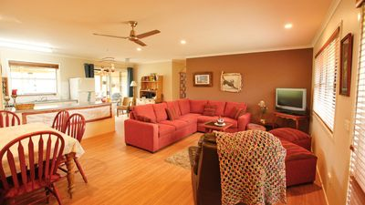 Photo for THE NEST: Central, comfortable pet friendly home - 9 Dromedary Crt