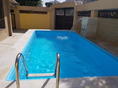 Photo for Beach House, Pool, Pool, BBQ, High Standard, Suites w / Air Cond.