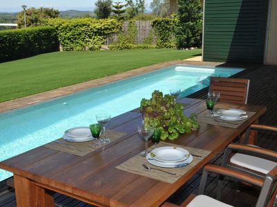Photo for Modern villa with private garden & pool - Pals (CE 2H 701)