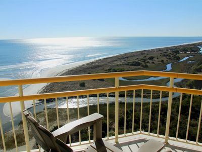 Photo for Upscale Oceanfront Condo - Stunning Views, Wi-Fi, Ind/Outdoor Pools & Tennis