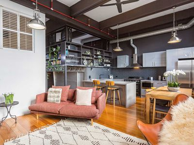 Photo for High, soaring ceilings and  polished timber floors (Managed by Boutique Stays)