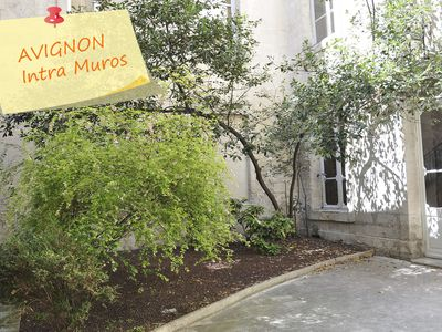 Photo for Apartment Center AVIGNON Facing Les Halles Reception scheduled on arrival