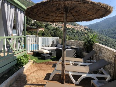 Photo for Chalet Vanessa gititel on private property terrace 80m2 panoramic view
