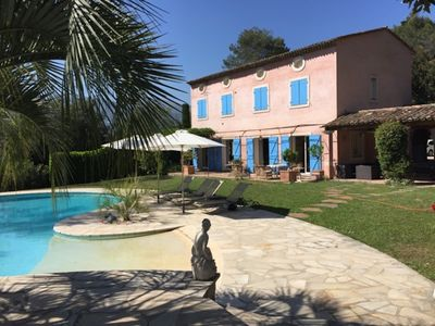 Photo for Amazing Stone Bastide with large garden and pool