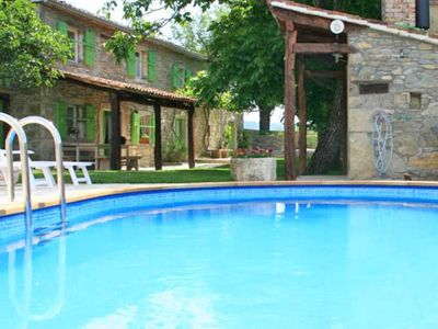 Photo for This 3-bedroom villa for up to 6 guests is located in Buzet and has a private swimming pool and Wi-F