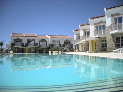 Photo for Villa With Large Pool And Private Grounds, glorious Blue Flag sandy beach