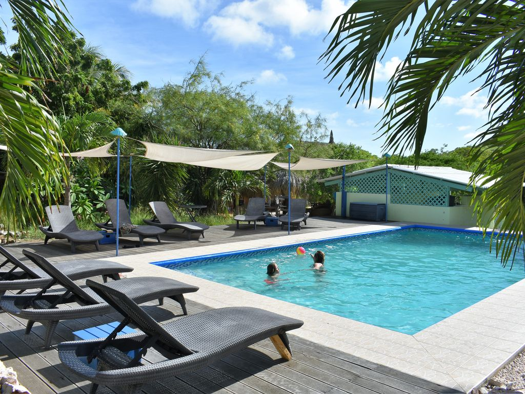 Nice apartments in the tropical garden with swimming pool (s) - Soto