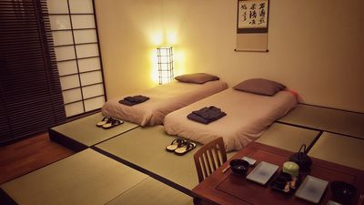 "Photo for Japanese room ""ryokan"" HYPER CENTER galleries lafayettes, castle, TGV station"
