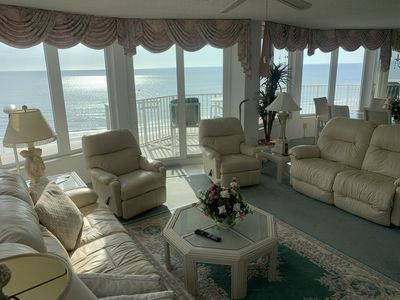 Photo for Direct Ocean Front, 701 3BR/3BA  BEAUTIFUL Beach and River
