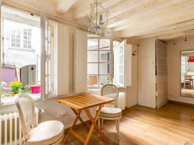Photo for Notre Dame on your doorstep - charming & sun-filled Parisian flat (Veeve)