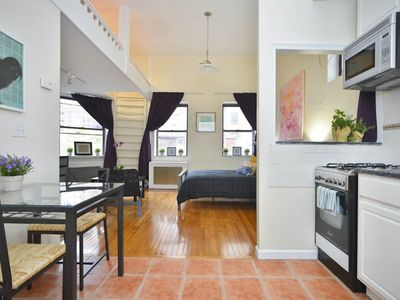 Photo for *SKYTRAIN* Spacious Studio Loft In Townhouse Buildiing