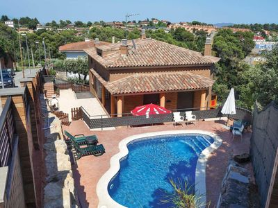 Photo for 3 bedroom Villa, sleeps 6 in La Salut with Pool, Air Con and WiFi
