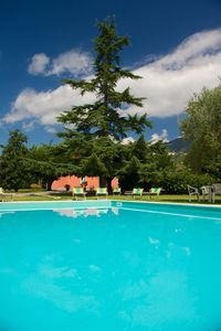 Photo for Quiet, relaxation and privacy in the countryside near Lucca. Pool and air conditioning.