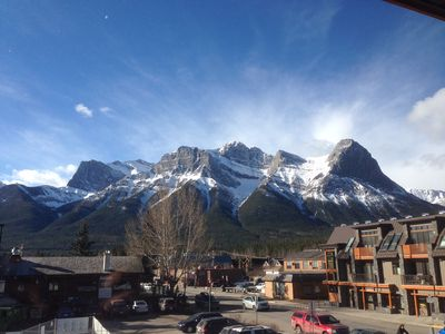 Photo for Canmore Mountain View Rental in Centre of Town - 2br 2bath