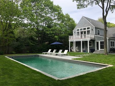 Photo for Chic Family Friendly House in East Hampton Village Fringe