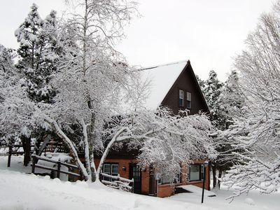 Enjoy the Reunion House in all this snow!!!