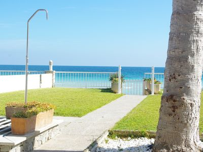 Photo for Apartment in quiet area, closed the beach with views of the bay of Alcudia
