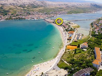 Photo for Apartments Sanja, (15533), Pag, island of Pag, Croatia