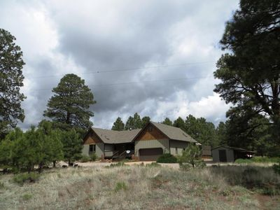 Photo for 5 Acres hidden getaway - among the trees