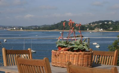 Photo for BEAUTIFUL VIEWS! Feet on Paimpol Bay. L'Ile Brehat 5km Top comfort / quality