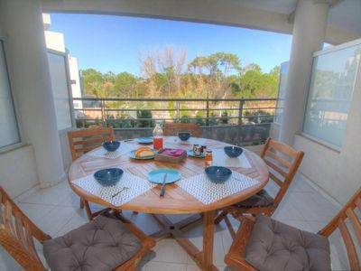 Photo for Les Rivages de Calvi - New apartment 4 pers, Calvi pinewood, beach walk