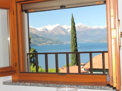Photo for Attick with air conditioning  2-4 sleep in Bellagio, Lake Como