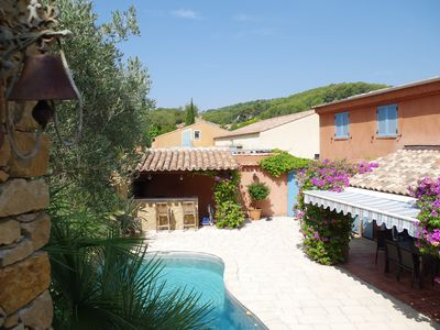 Photo for Charming Bandol House with Pool