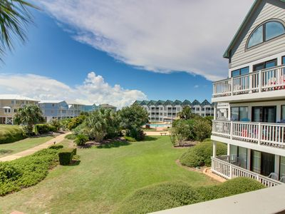 Photo for NEW LISTING! Amazing condo with shared pool, hot tub, tennis courts and golf!