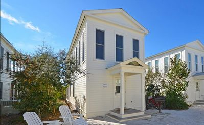 "One of the iconic ""Honeymoon Cottages"" in Seaside, Florida this is SWEETIE PIE"