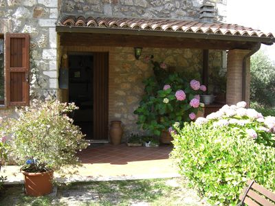 Photo for Country house in Umbria with private swimming pool and WiFi