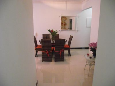 Photo for comfortable apartment 160 mtrs from the beach