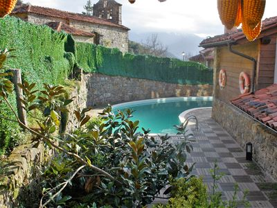 Photo for Romantic Apartment with Mountain View, Pool, Garden and Wi-Fi