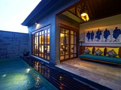 Photo for 1 Bedroom Luxury Private Pool Villa in the Rice Field of Ubud