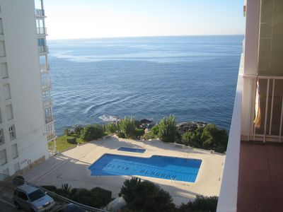 Photo for Rosas: APPART ENTIRELY RELOOKE A NINE 50m from the Sea Sea Views Swimming Pool,