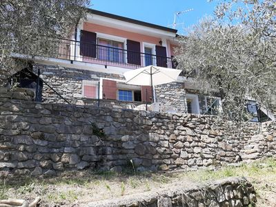 Photo for Hinterland VILLA IMMERSED IN THE OLIVE TREES SILENT AND SUNNY