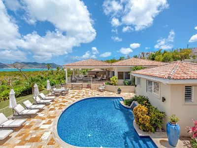 Villa Maison De Reve  -  Ocean View - Located in  Tropical Terres Basses with Private Pool