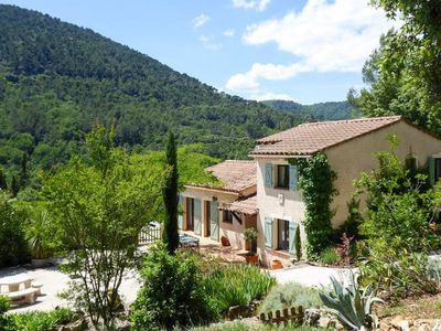 Photo for Idyllic country retreat just outside the picturesque village of Claviers