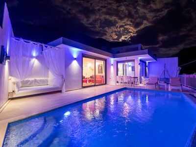 Photo for villa ladybird honeymoon villa in kalkan with indoor and outside door pool