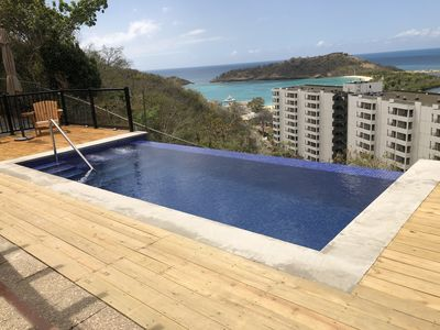 Photo for A modern 2 bedroom villa with stunning  panoramic view of the ocean