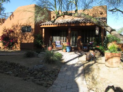 Photo for North Scottsdale 1 Bedroom Stand Alone Guest House With Garage.