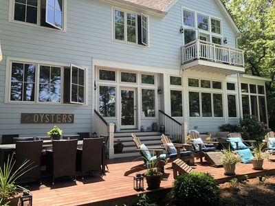 Photo for BEAUTIFUL WATERFRONT HOME IN EXCLUSIVE, QUAINT COMMUNITY: LINSTEAD.