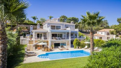 Photo for 6 bedroom Villa, sleeps 12 in Quinta do Lago with Pool, Air Con and WiFi