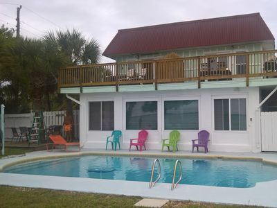 Photo for Live like in Paradise directly on the Banana River with Pool 150m to the Beach