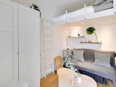 Photo for W151 - Cute and bright studio central Paris